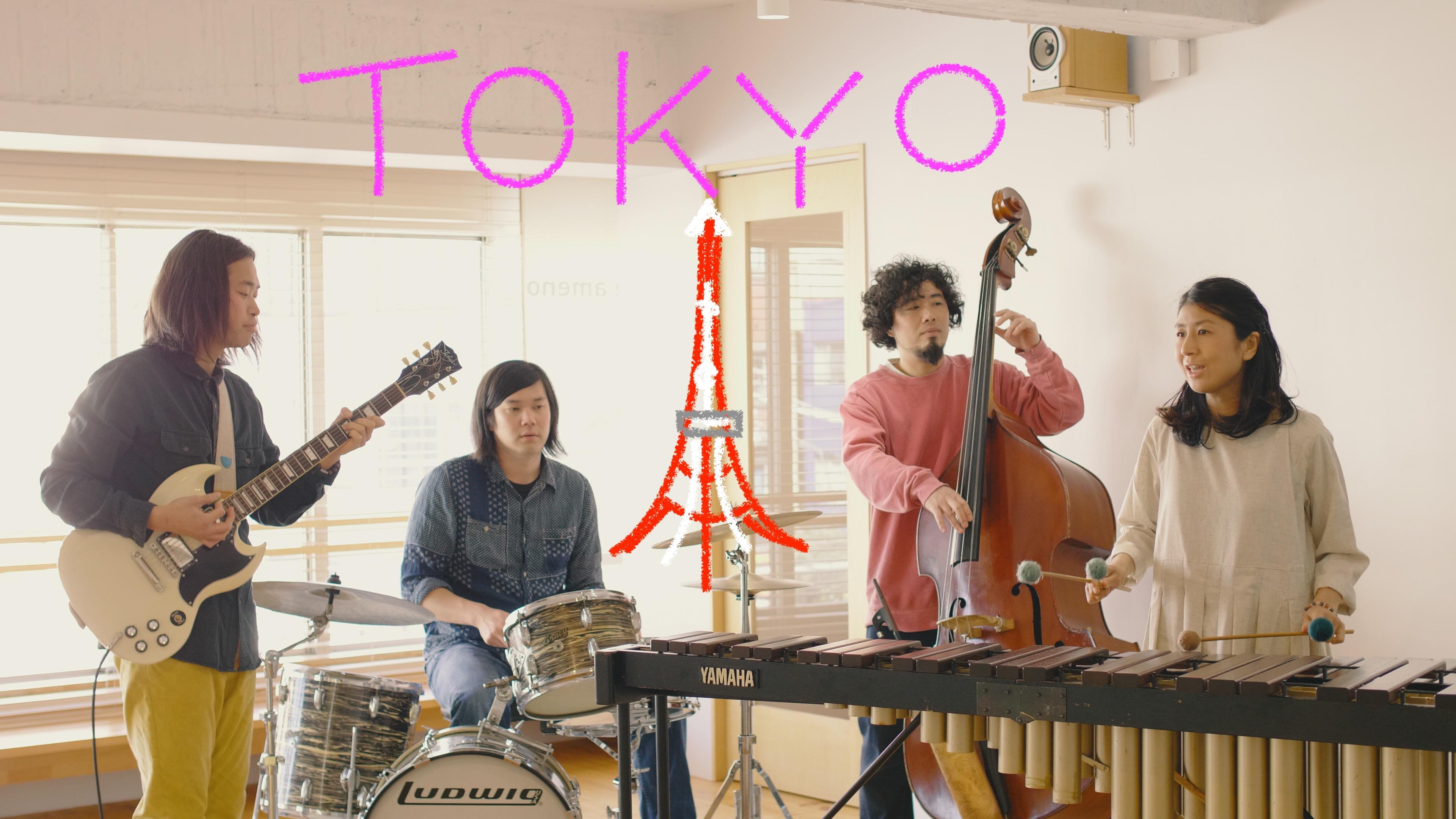 影山朋子1st album『光の速度、影の時間』リリースライブ東京公演 〜ふわり、光る髪が躍りはじめる〜
